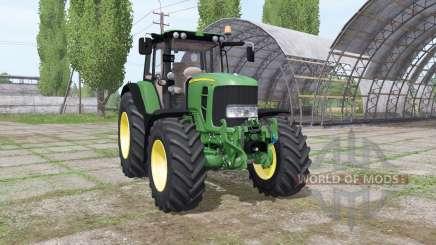 John Deere 7530 Premium Michelin для Farming Simulator 2017