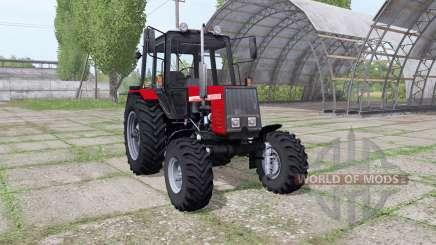 МТЗ 820 Беларус v1.1 для Farming Simulator 2017