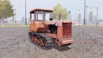ДТ-75М оранжевый для Farming Simulator 2013