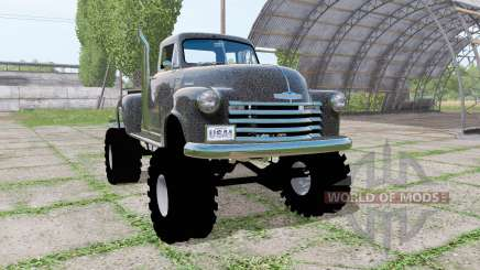Chevrolet 3100 pickup (HP-3104) 1950 для Farming Simulator 2017