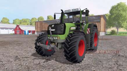 Fendt 930 Vario TMS green red для Farming Simulator 2015