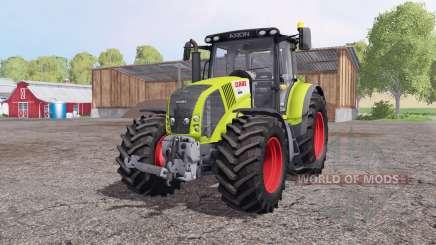 CLAAS Axion 850 v6.8 by Sotillo для Farming Simulator 2015