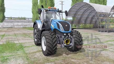 New Holland T7.315 v1.1 для Farming Simulator 2017