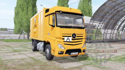 Mercedes-Benz Actros (MP4) garbage truck для Farming Simulator 2017