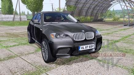 BMW X6 M (E71) Black Spike для Farming Simulator 2017