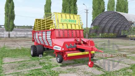 POTTINGER EUROBOSS 330 T twin tires для Farming Simulator 2017