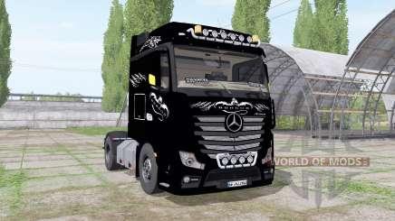 Mercedes-Benz Actros LS (MP4) 2011 для Farming Simulator 2017