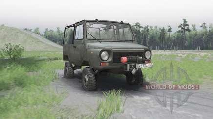 ЛуАЗ 969М 1979 для Spin Tires