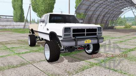 Dodge Ram D250 Club Cab 1991 для Farming Simulator 2017