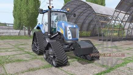 New Holland TG285 QuadTrac для Farming Simulator 2017