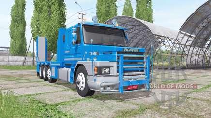 Scania T112E 8x8 v1.1 для Farming Simulator 2017