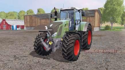 Fendt 828 Vario green для Farming Simulator 2015
