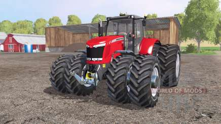 Massey Ferguson 7622 v2.6 для Farming Simulator 2015