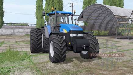 New Holland TM190 dynamic hoses для Farming Simulator 2017