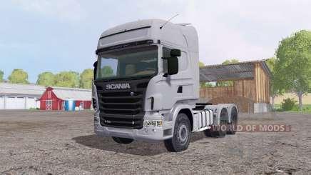 Scania R730 Topline cab для Farming Simulator 2015