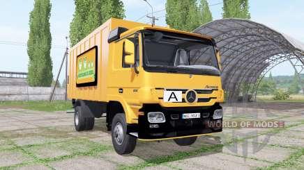 Mercedes-Benz Actros 1836 (MP2) garbage truck для Farming Simulator 2017