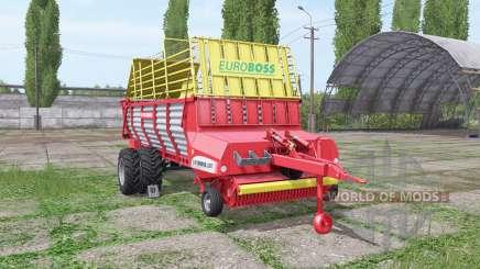POTTINGER EUROBOSS 330 T twin tires v1.6 для Farming Simulator 2017