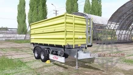 Fliegl TDK 255 light green для Farming Simulator 2017