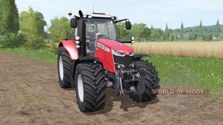 Massey Ferguson 6714 S для Farming Simulator 2017