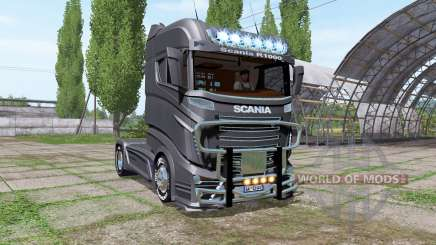 Scania R1000 black для Farming Simulator 2017