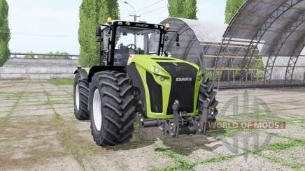 CLAAS Xerion 4500 Trac VC v6.1 для Farming Simulator 2017