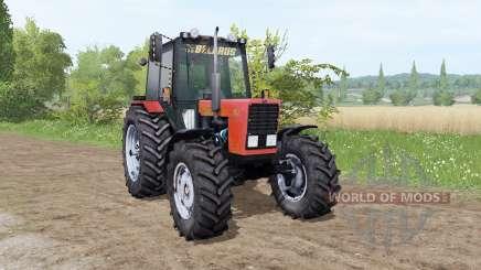 МТЗ-82.1 Беларус красный by XXXni для Farming Simulator 2017