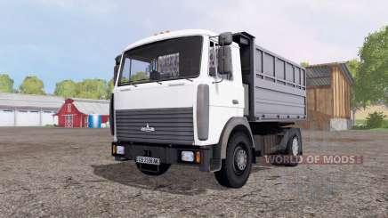 МАЗ 5551А2-4327 для Farming Simulator 2015
