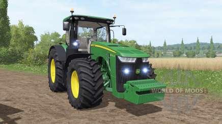 John Deere 8245R v3.0 для Farming Simulator 2017