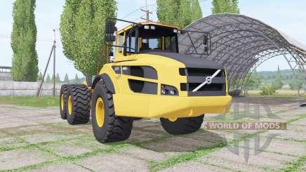 Volvo A40G truck tractor для Farming Simulator 2017