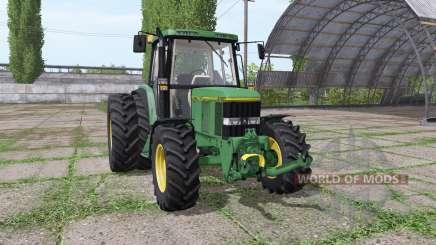 John Deere 6100 для Farming Simulator 2017