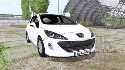 Peugeot 308 (T7) для Farming Simulator 2017