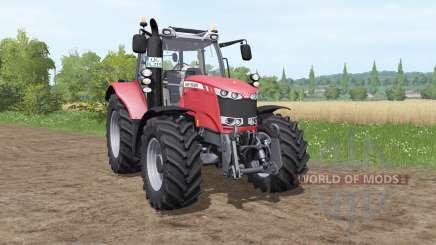 Massey Ferguson 6613 v1.1 для Farming Simulator 2017