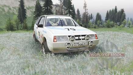 ВАЗ 2108 ралли v1.1 для Spin Tires