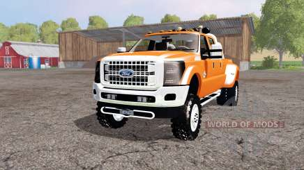 Ford F-450 Super Duty Platinum Crew Cab 2013 для Farming Simulator 2015