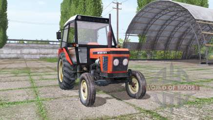 Zetor 7211 2WD для Farming Simulator 2017