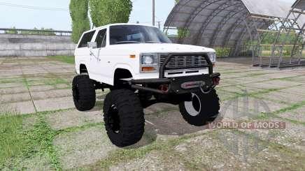 Ford Bronco XLT (U150) 1981 для Farming Simulator 2017