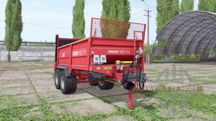 SIP Orion 120 TH v1.2 для Farming Simulator 2017