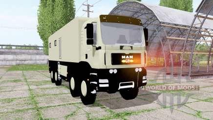MAN TGA 28.430 wohnmobil для Farming Simulator 2017