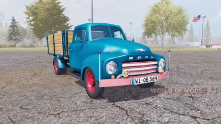 Opel Blitz v1.1.2 для Farming Simulator 2013