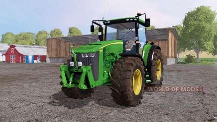 John Deere 8360R green для Farming Simulator 2015