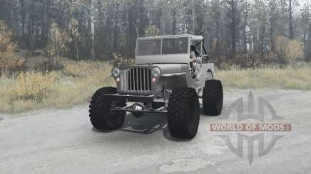 Willys MB off-road v1.1 для MudRunner