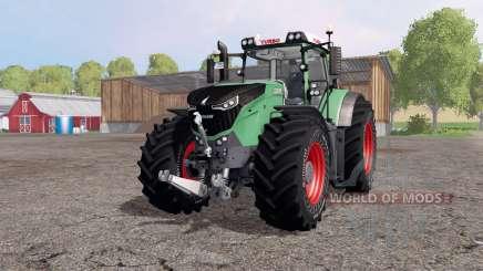 Fendt 1050 Vario turbo green red для Farming Simulator 2015