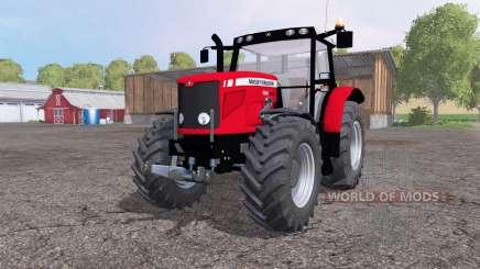 Massey Ferguson 6480 front loader для Farming Simulator 2015