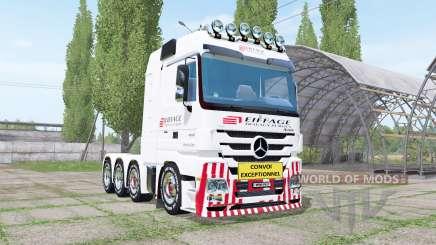 Mercedes-Benz Actros 4160 SLT (MP3) для Farming Simulator 2017