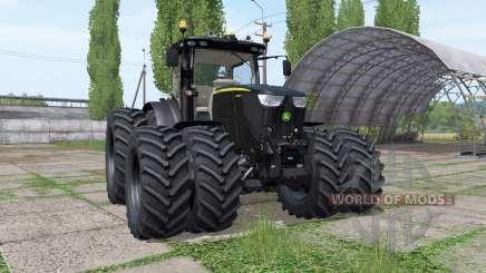 John Deere 6250R black v2.4 для Farming Simulator 2017