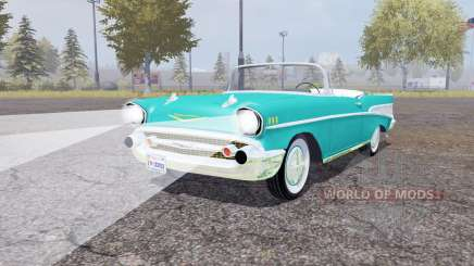 Chevrolet Bel Air convertible (2434-1067D) 1957 для Farming Simulator 2013
