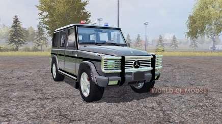 Mercedes-Benz G500 (W463) Unmarked Police для Farming Simulator 2013