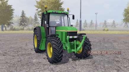 John Deere 6100 v2.1 для Farming Simulator 2013