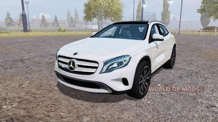 Mercedes-Benz GLA 220 CDI (X156) v1.1 для Farming Simulator 2013
