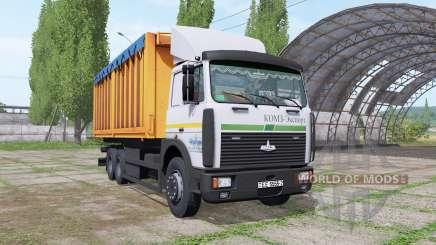 МАЗ 6303 для Farming Simulator 2017
